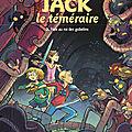 Pêle-mêle bd en séries : jack le téméraire - pile ou face - le journal d'aurore