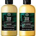 Review: the body shop banana shampoo & conditioner