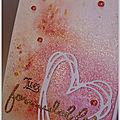 Challenge carte maniak #171 : mon cœur !