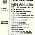 Fete de la commune libre de St André à Joigny