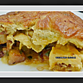 Tortilla (omelette) au <b>Chorizo</b> et pommes de terre