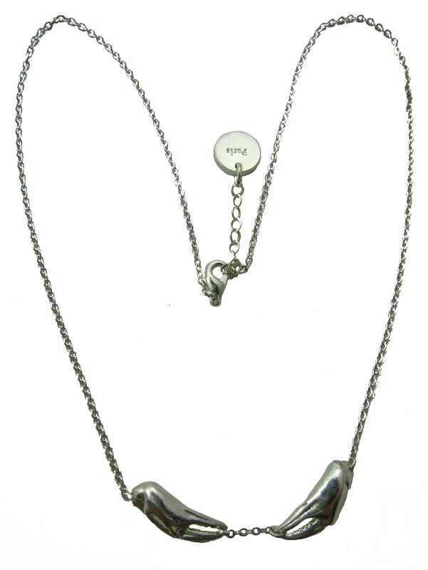 collier crabe ag