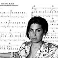 Amy winehouse (partitions - sheet music)