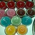 Bougies parfumées, round 2
