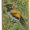 A yellow-backed woodpecker, attributed to <b>Mansur</b>, Mughal, circa 1585-90