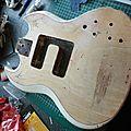 Guitare altérée et son mini vintage