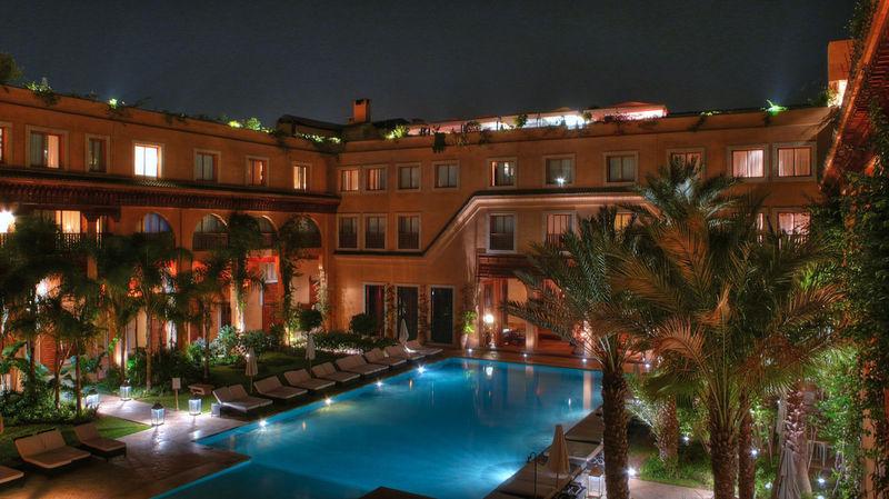 Piscine Club Mamounia Marrakech