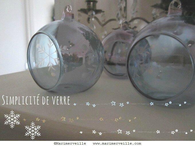 Simplicité de verre - marimerveille