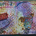 Challenge artjournal et gribouillages # 93 : gâteaux