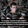 Une guerre au Mali et de l'uranium au Niger, des islamistes très utiles (un article de Stephane Lhomme paru le 13/01/2013)