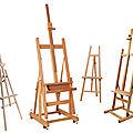 Choisir son <b>chevalet</b> pour peindre