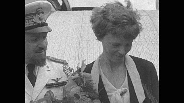 Italo Balbo et Amelia Earhart