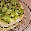 Pavlova kiwi-citron vert