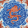 Exceptionally Rare Imperial 'Nine Dragon' Dish Top Lot At Bonhams Chinese Sale