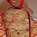 Cookies à la farine complète