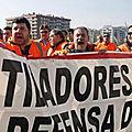 Grève dans les ports espagnols