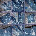 ronds de serviette en jean's