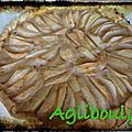 {recette] tarte aux poires # thermomix #