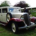 <b>RENAULT</b> Vivaquatre 11CV commerciale 1934