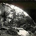 Trans en Provence-Sous l'arche du Pont Bertrand