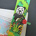 Le marque-page panda
