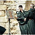 Le serpent (instrument) moine abbaye de maillezais