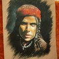 1ers portraits en pastel