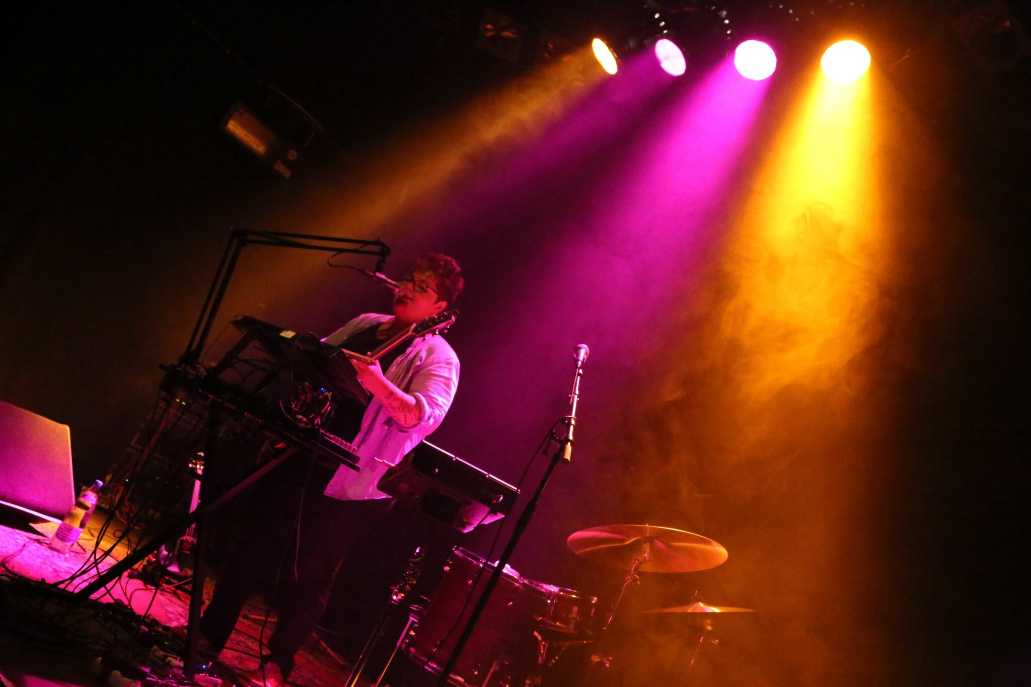 Live Aube L @ le Lux (Suisse) by Laurence Barriol