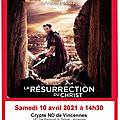 CINE-SPI DE VINCENNES : La résurrection du <b>Christ</b>