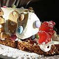 Maison en biscuits et pain d'épices