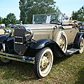 FORD model A Deluxe roadster 1930 Madine (1)