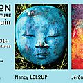 Exposition nancy leloup et jérôme thevenon du 17 au 28 juin !