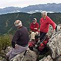 L'<b>Ecoutoux</b> 1406 m de Montquaix-Sarcenas - Chartreuse
