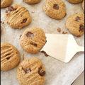 Cookies à la farine de chataîgne, huile d
