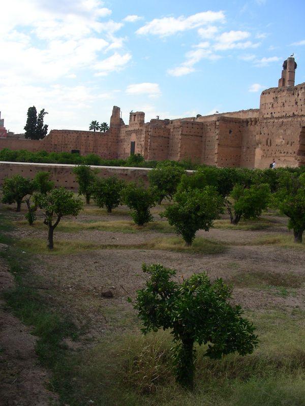 Les murs de Marrakech