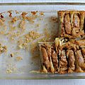 Gateau aux pommes - consolation pour une journée grise de printems / Apple pie