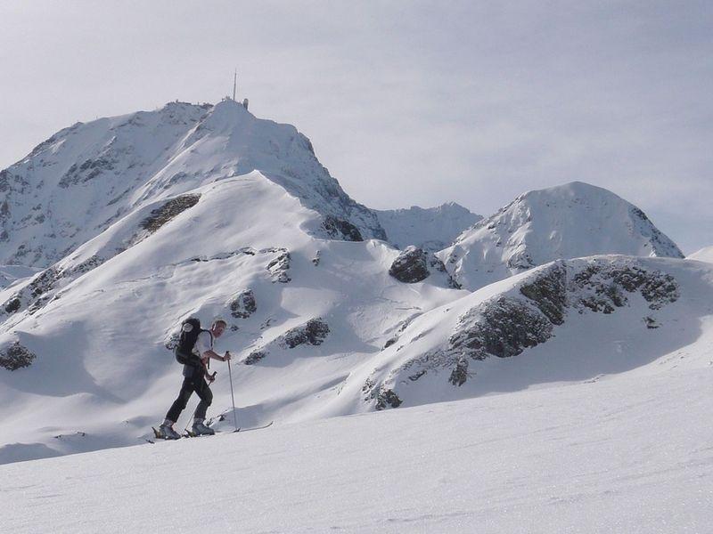 Luc devant le Pic du Midi
