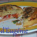 Feuilletés tomate mozzarella