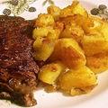 Roasted potatoes (recette anglaise de pommes de terre roties)
