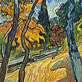 <b>Vincent</b> <b>van</b> <b>Gogh</b> (1853-1890), Arbres dans le jardin de l'asile, 1889