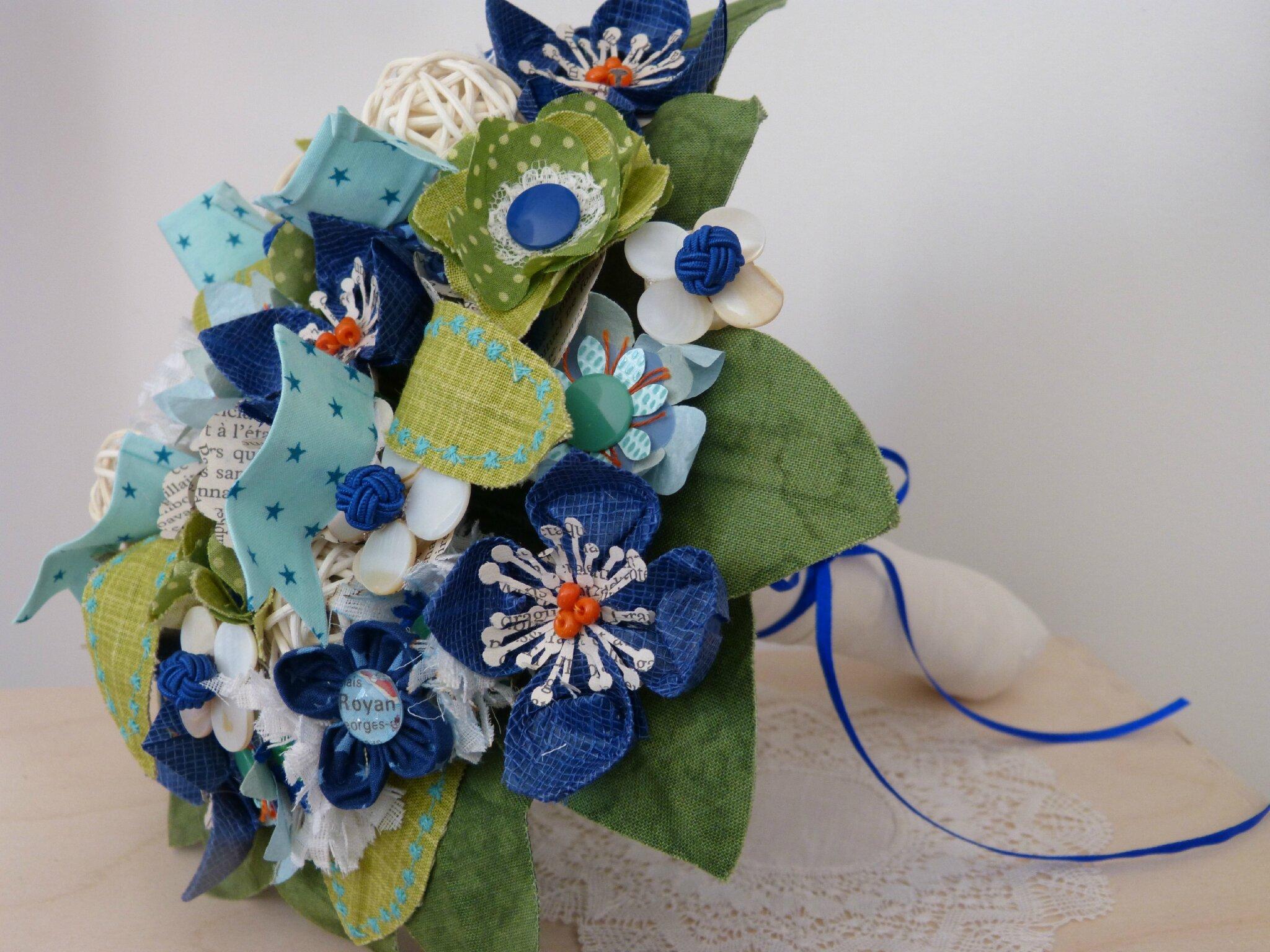 Bouquet de mariée Charente...