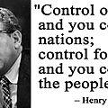 La prophétie du pr. henry kissinger sur la 3e guerre mondiale