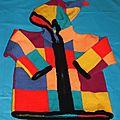 Gilet multicolores (6 ans)