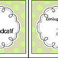Troisième série de task cards