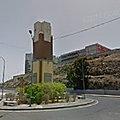 Rond-point à Las <b>Palmas</b> (Espagne)