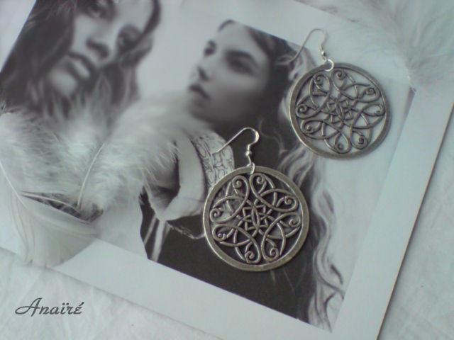Boucles d'oreilles Celtique marque ANAIRE