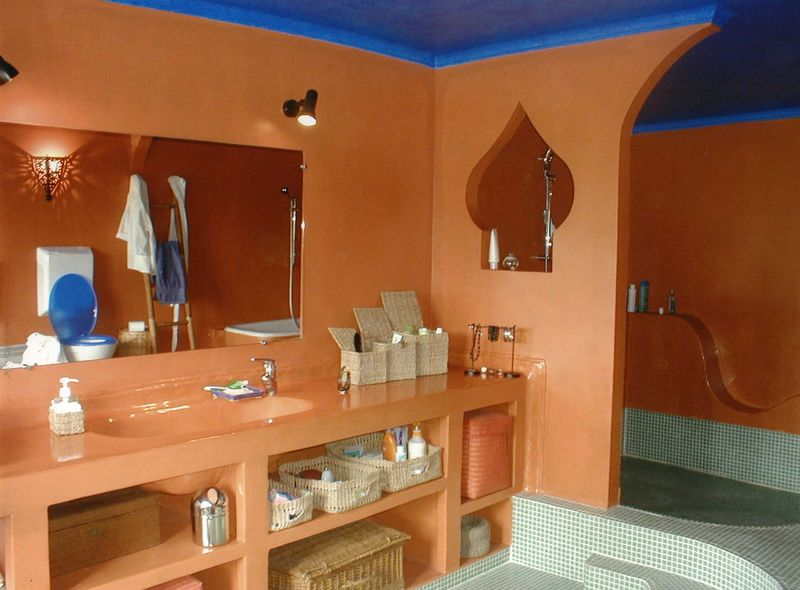 salle de bain marocaine - Photo de E.PATINES - I.DEKO