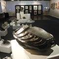 exposition ceramiques et peintures à l'espace de la Mer à Pourville