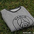 Sweat pour grand fan !