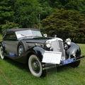 <b>HORCH</b> 853A Sport cabriolet 1938
